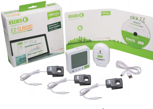 Efergy Wireless Energy Monitor 3 Phase