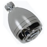 "½"" Rose Bud Shower Head 9L/min (Chrome finish)"