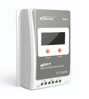 MPPT Solar Charge Controller with Display 20A
