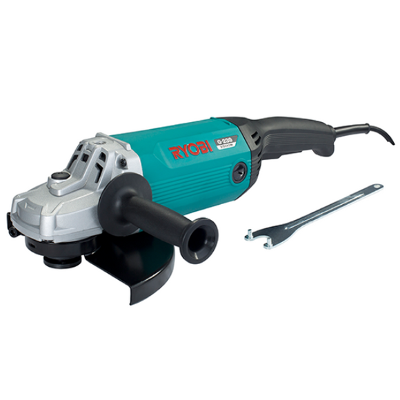 Angle Grinder 230Mm 2500W W/ Cut Off Brushes 5Yr