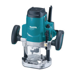 "Makita MT 1650W Router 12.7mm (12"") Plunge Action 22000rpm"