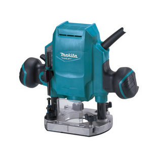 "Makita MT 900W Router 6.35mm (14"") Plunge Action 27000rpm"