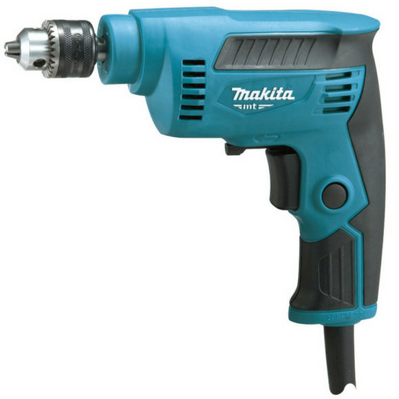 Makita MT 6.5mm High Speed Drill 230W Geared Chuck -  Variable Speed