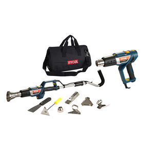 RYOBI Multi-Purpose Heat Gun 2000W 2 Speed 450 - 600 Degrees with Access Kit MHG-2000