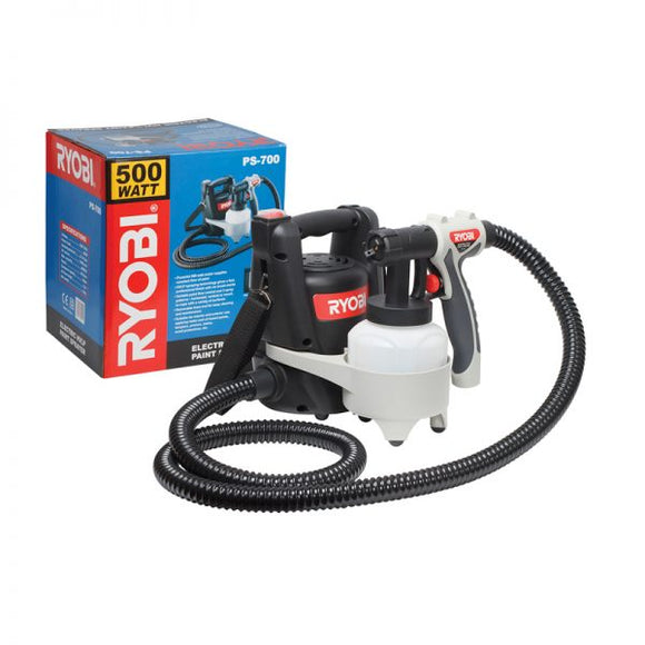 RYOBI Spray Gun HVLP 500W 700ML Capacity PS-700