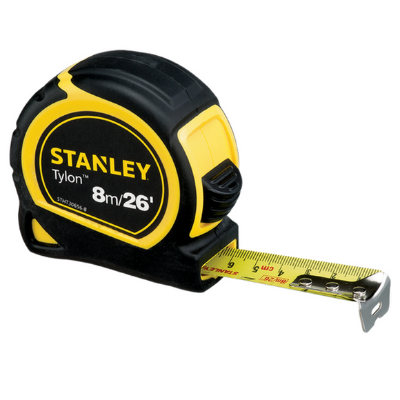 Stanley Tylon™ Tape Rules 8M X 25mm