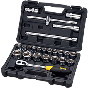 "1/2"" Dr. Socket Set - 24 Piece"