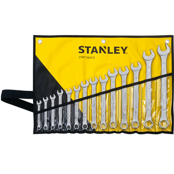 Stanley 14 Pieces Combination Wrench Set