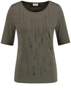 Top with Sequins - ELIZABETH SCHINDLER