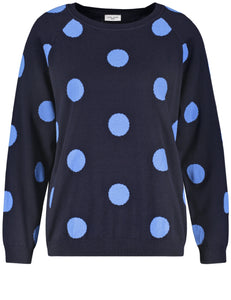 Pullover with Polkadots