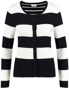Striped Cardigan - ELIZABETH SCHINDLER