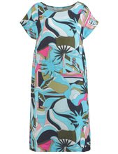 Printed Linen Dress - ELIZABETH SCHINDLER