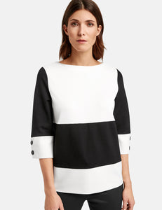 NEW! Colour Block Top - ELIZABETH SCHINDLER