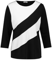 Top with Block Stripes