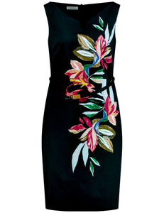 Dress with Flower Print - ELIZABETH SCHINDLER