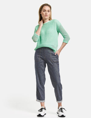 Easy Fit Linen Trousers