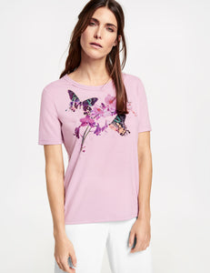 Top with Butterfly - ELIZABETH SCHINDLER