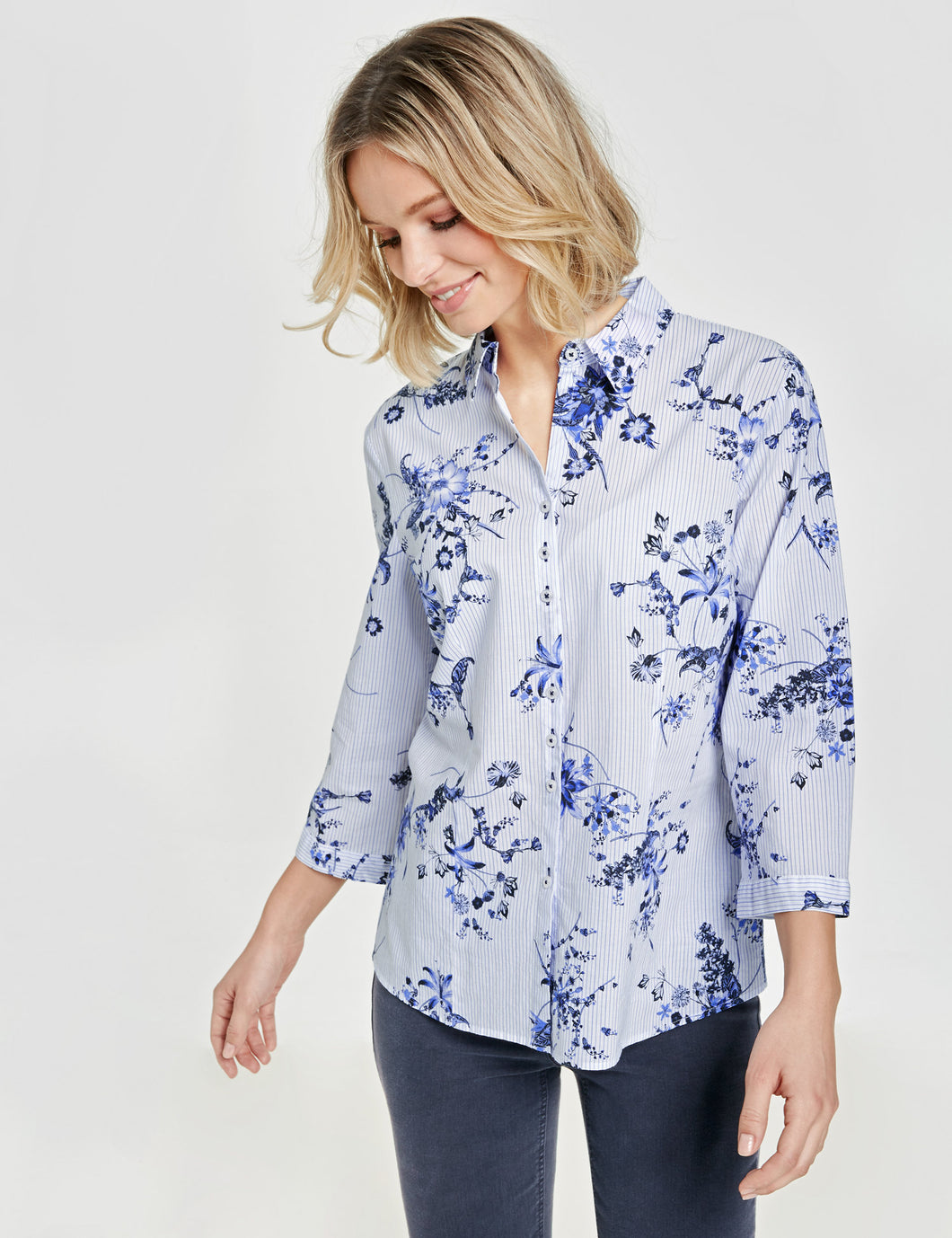 Cotton Blouse - ELIZABETH SCHINDLER