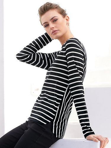 Top with Stripes - ELIZABETH SCHINDLER