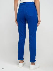 Jeans in Cobalt Blue