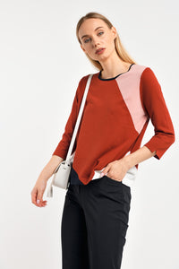 Colourblock Pullover