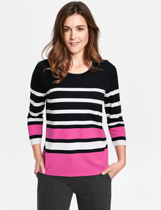 Striped Top - ELIZABETH SCHINDLER