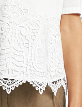 Top with Lace Trim - ELIZABETH SCHINDLER