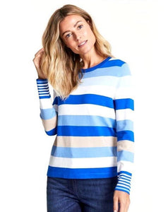 Pullover with Stripes