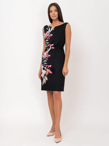Dress with Flower Print