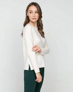 Pullover with Side Slita