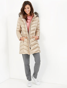 Down-filled Coat