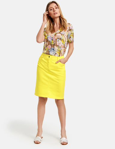 Yellow Skirt - ELIZABETH SCHINDLER