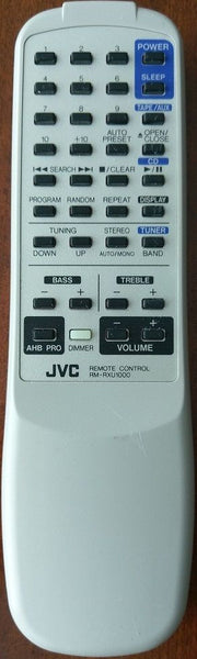JVC RM-RXU1000 Original Genuine OEM Audio Remote Control ~IR Tested Successfully