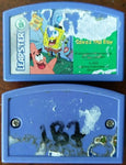 Leapster Game Cartridges SpongeBob SquarePants Saves The Day and an Unknown Game