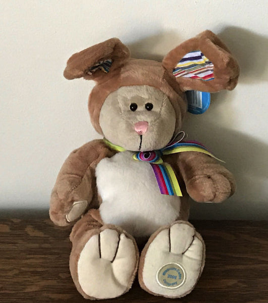 Starbucks 75th Bearista Bear Collection 2008 Easter Bunny Costume Plush