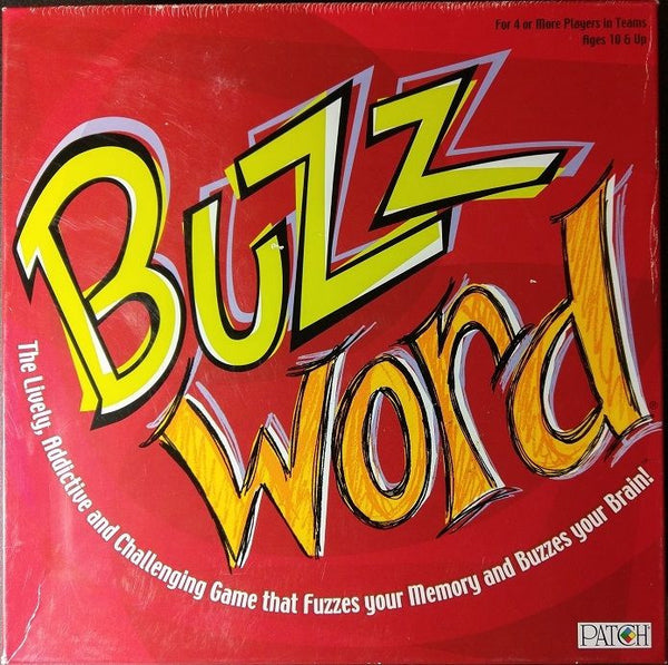 Buzz Word Board Game Family Fun Game Night BUZZWORD Party Word 100% Complete