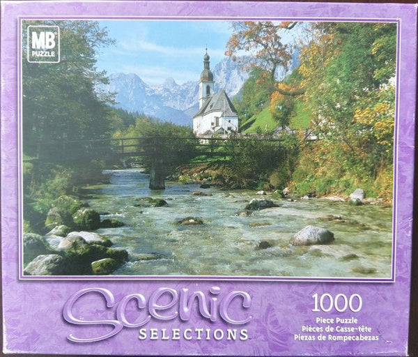 Scenic Selections Ramsau Bavaria Germany 1000 Piece Puzzle by Hasbro MB *SEALED*