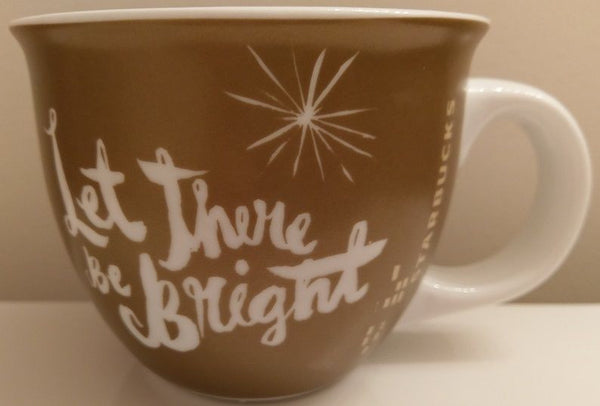 Starbucks ~ Let There Be Bright ~ Coffee Mug Tea Cup 14 oz 2014
