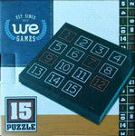 WE Games 15 Puzzle Number Game