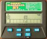 Radica Pocket Blackjack 21 Handheld Electronic Game Model 1350 Test Successfully