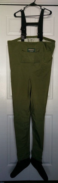 HODGMAN Wadelite Chest Waders Footed Lightweight Size Medium Excellent Condition