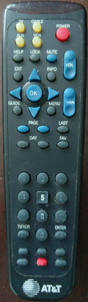 AT&T 200C UA164 Remote Control for Cable Box