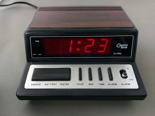 Cosmo Time E519 Electronic LED Alarm Clock