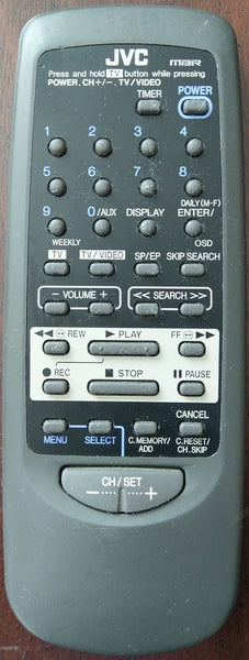JVC UR64EC1351 TV Video Remote Control