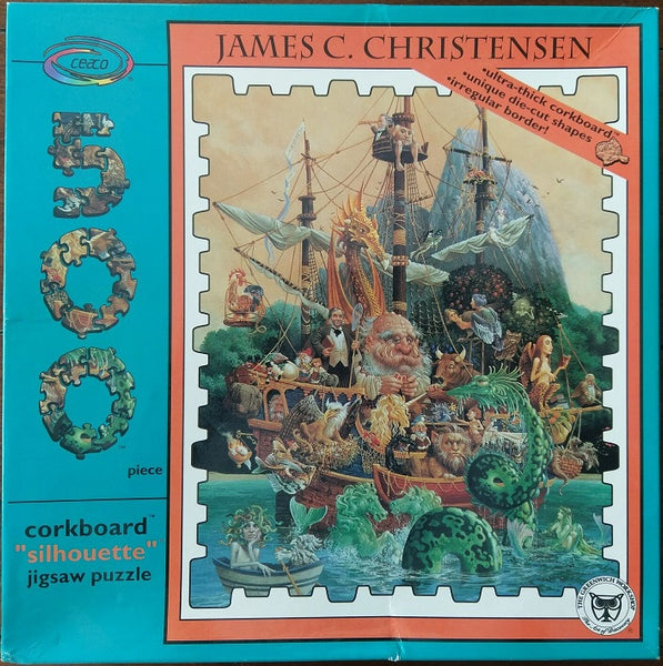 James C Christensen Voyage of The Basset Puzzle No 1004-2