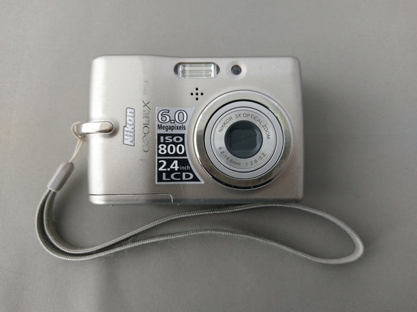 Nikon COOLPIX L11 6.0MP Megapixel Digital Camera Matte Silver