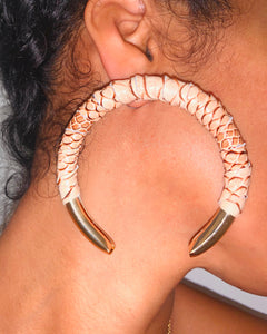 Python Oriya Earrings {view}