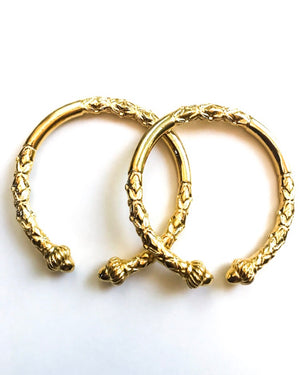 Zaina Bangle Bracelet Set Of 2  {view}