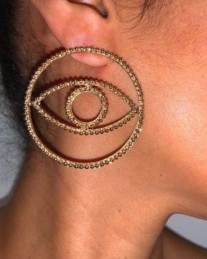 Samar Earrings {view} Restock Soon