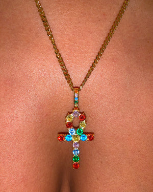 Kalisa Ankh Necklace {view}